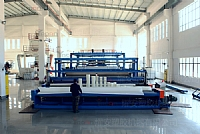 Large super 6 meters wide PE sheet extrusion equipment