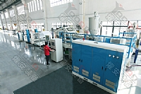 Optic film coating composite extrusion machine